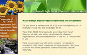 natural high blood pressure remedies 09/03